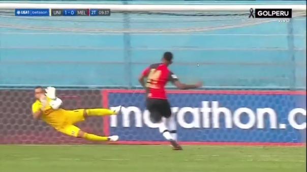 Jhonny Vidales anotó el 1-1 de Melgar ante Universitario