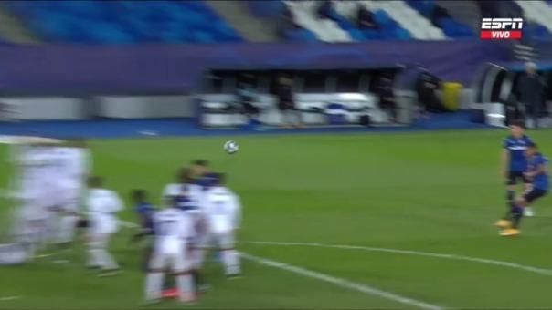 Real Madrid 2-1 Atalanta: así fue el gol de Muriel