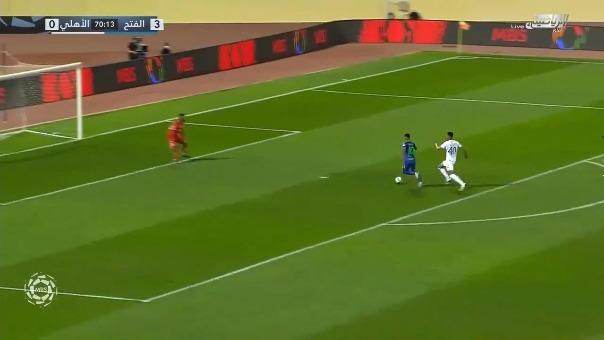 Christian Cueva anotó el 4-0 de Al-Fateh ante Al-Ahli Saudí