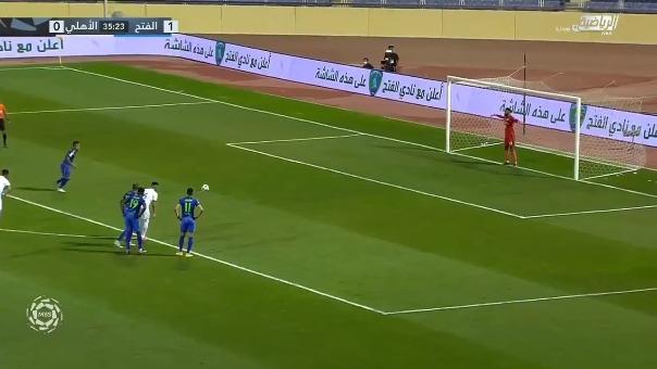 Christian Cueva anotó de penal en favor de Al-Fateh