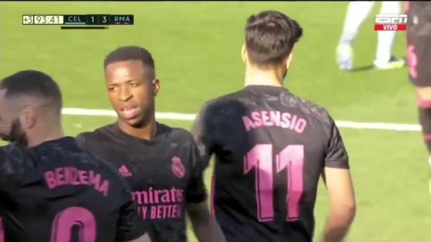 Marco Asensio sentenció el triunfo del Real Madrid