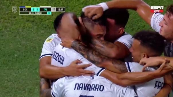 Boca Juniors 1-0 Talleres de Córdoba: así fue el gol de Carlos Auzqui