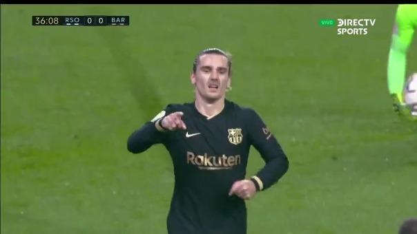 Barcelona vs. Real Sociedad: así fue el gol de Antoine Griezmann
