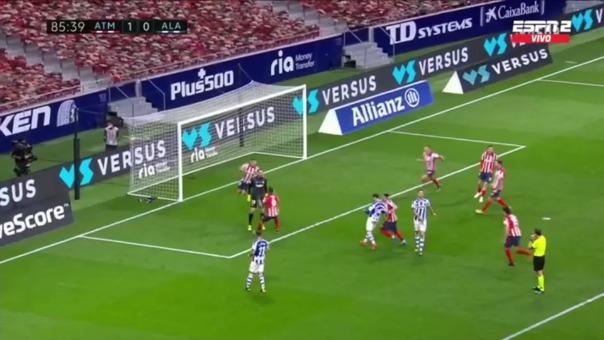 Atlético de Madrid 1-0 Alavés: así fue la atajada de penal de Oblak