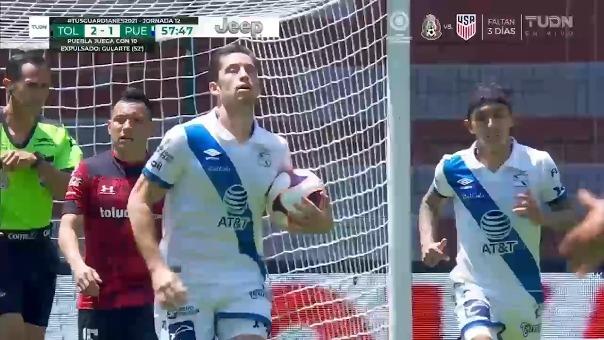 Gol de Santiago Ormeño.