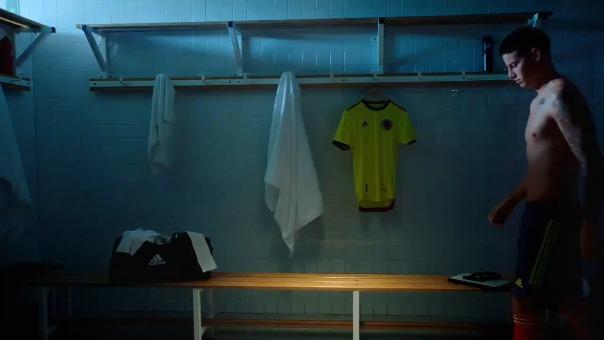 James Rodríguez aparece en el video de presentación de Selección de Colombia