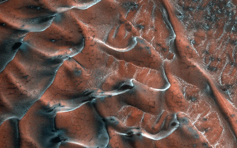NASA | Marte: ¿Dunas heladas? Por supuesto que las encontramos en el Planeta Rojo | RPP Noticias