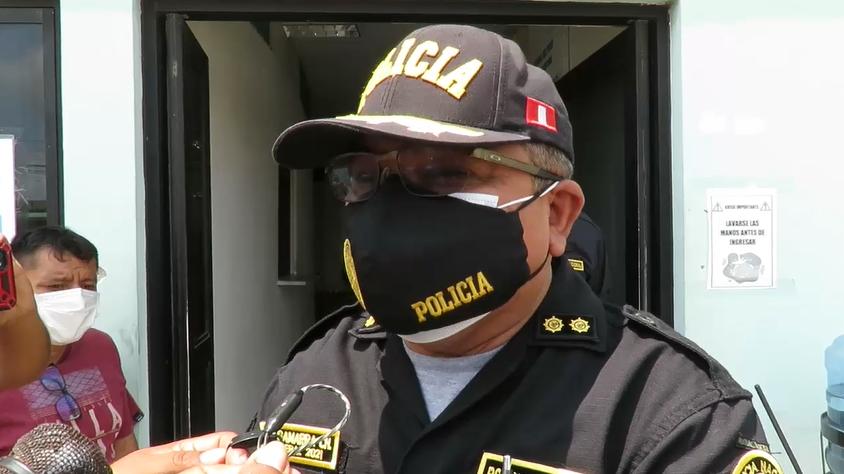 """El general Luis Miguel Gamarra Chavarry detalló cómo funcionaba la organización criminal """"Los Taladores Ilegales de Tumbes""""."""