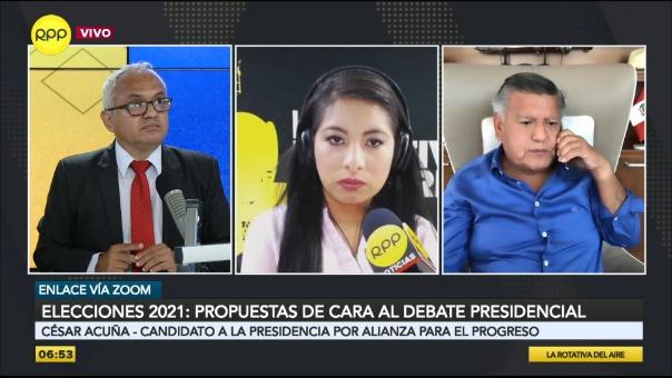 César Acuña, candidato de Alianza para el Progreso.
