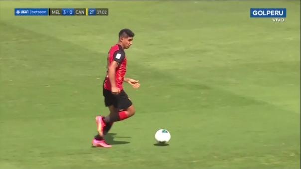 Melgar vs. Cantolao: así fue el segundo gol de Luis Iberico