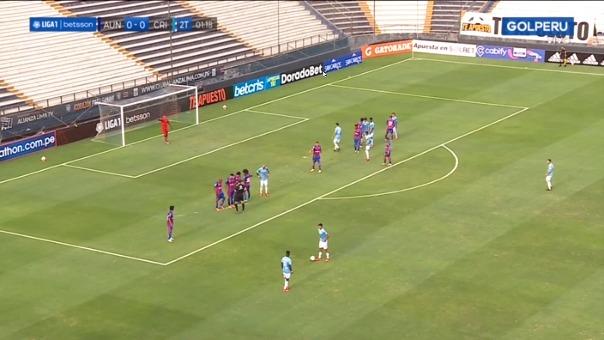 Sporting Cristal 1-0 Alianza Universidad: así fue el gol de Washington Corozo