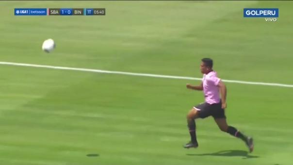 Jorman Aguilar abrió el marcador en el Sport Boys vs. Binacional