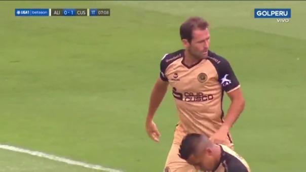 Alianza Lima 0-1 Cusco FC: así fue el gol de Mauricio Montes