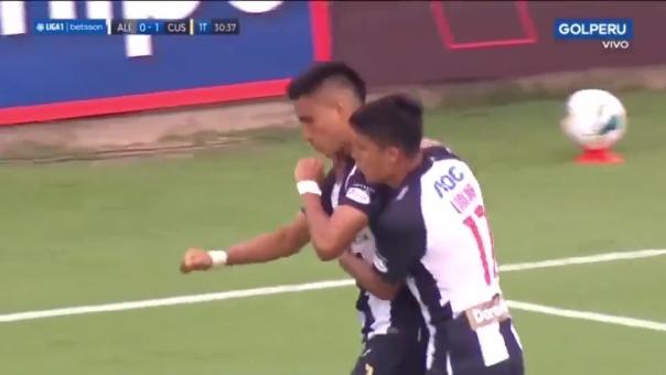 José Manzaneda marcó el 1-1 frente a Cusco FC