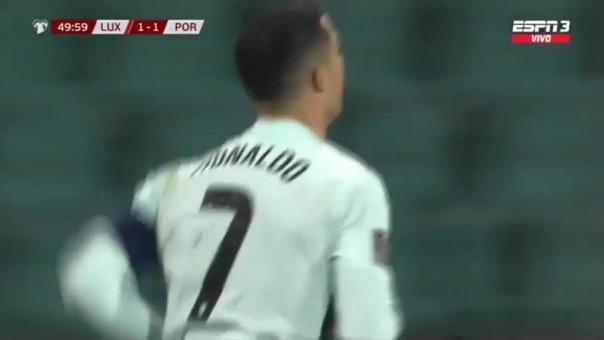 Cristiano Ronaldo anotó ante Luxemburgo