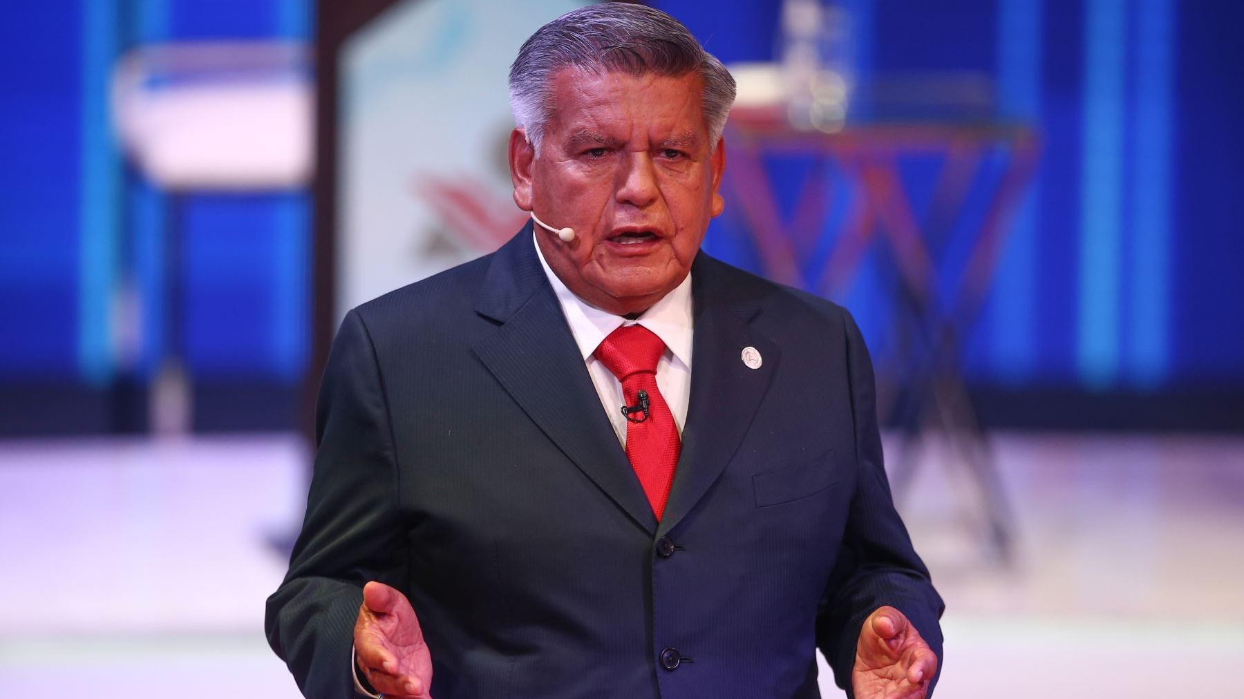 César Acuña, candidato presidencial de Alianza para el Progreso.