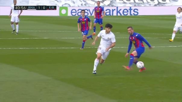 Golazo de Marco Asensio para el 1-0 de Real Madrid