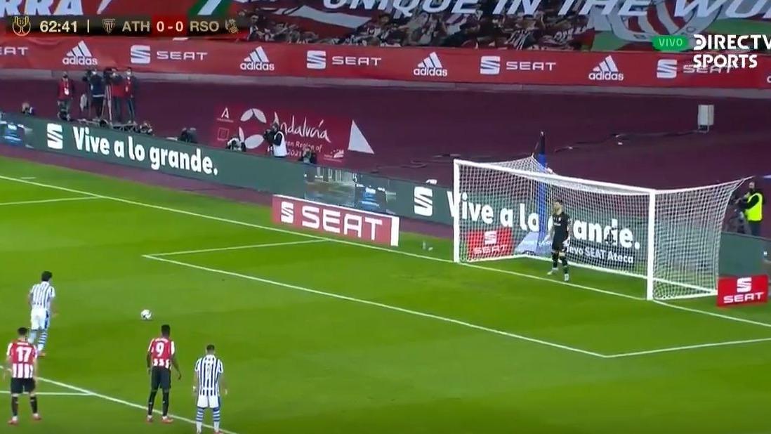 El gol de Mikel Oyarzabal para título de la Real Sociedad en Copa del Rey.