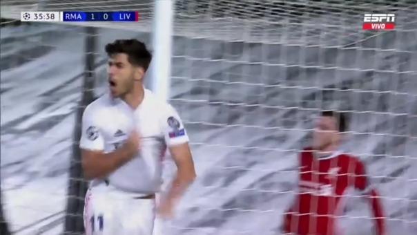 Real Madrid 2-0 Liverpool: así fue el gol de Asensio