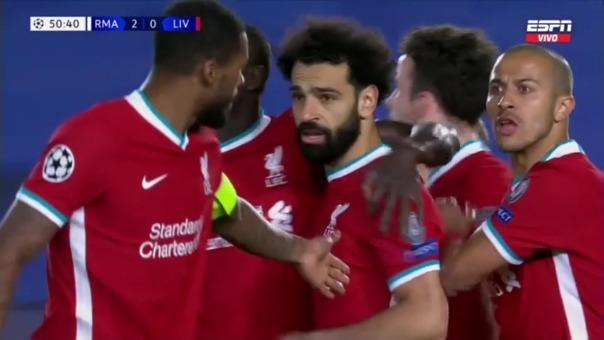 Real Madrid 2-1 Liverpool: así fue el gol de Salah
