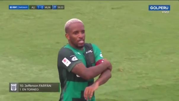 Jefferson Farfán anotó el 1-0 de Alianza Lima ante Municipal