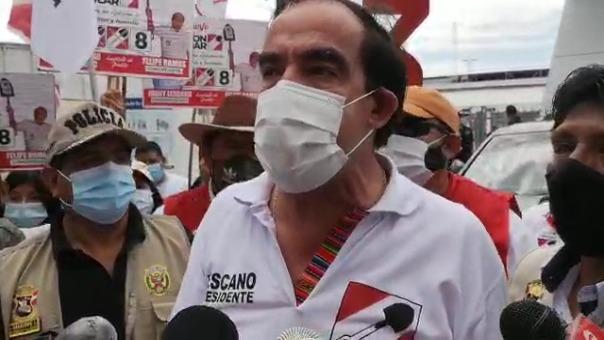 El candidato a la presidencia por Acción Popular pidió que se compre la fórmula de una vacuna contra la COVID-19 para que se pueda elaborar en laboratorios.