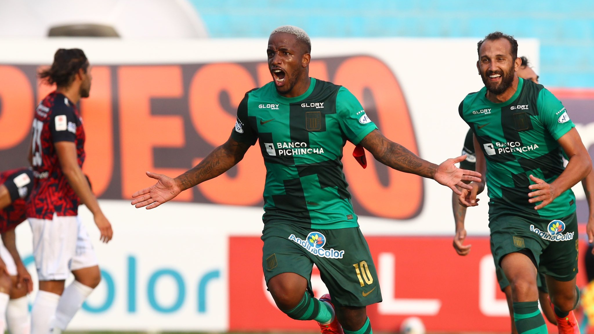 Otro ángulo del gol de Alianza Lima
