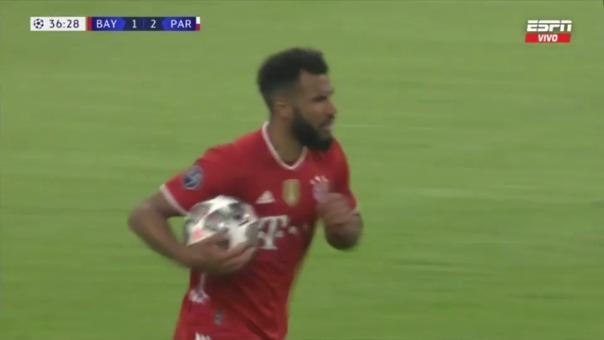 Bayern Munich 1-2 PSG: así fue el gol de Eric Choupo-Moting