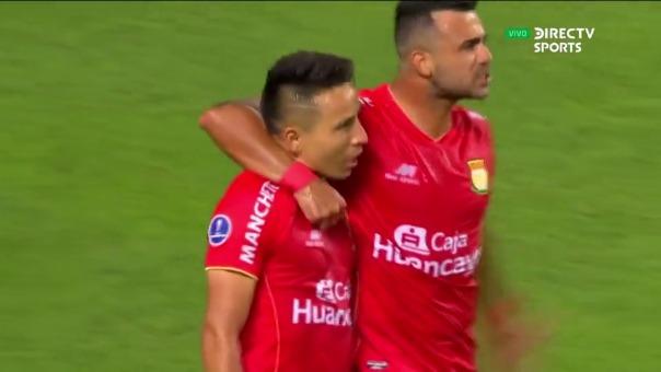 Sport Huancayo 2-0 UTC: así fue el gol de Barreto