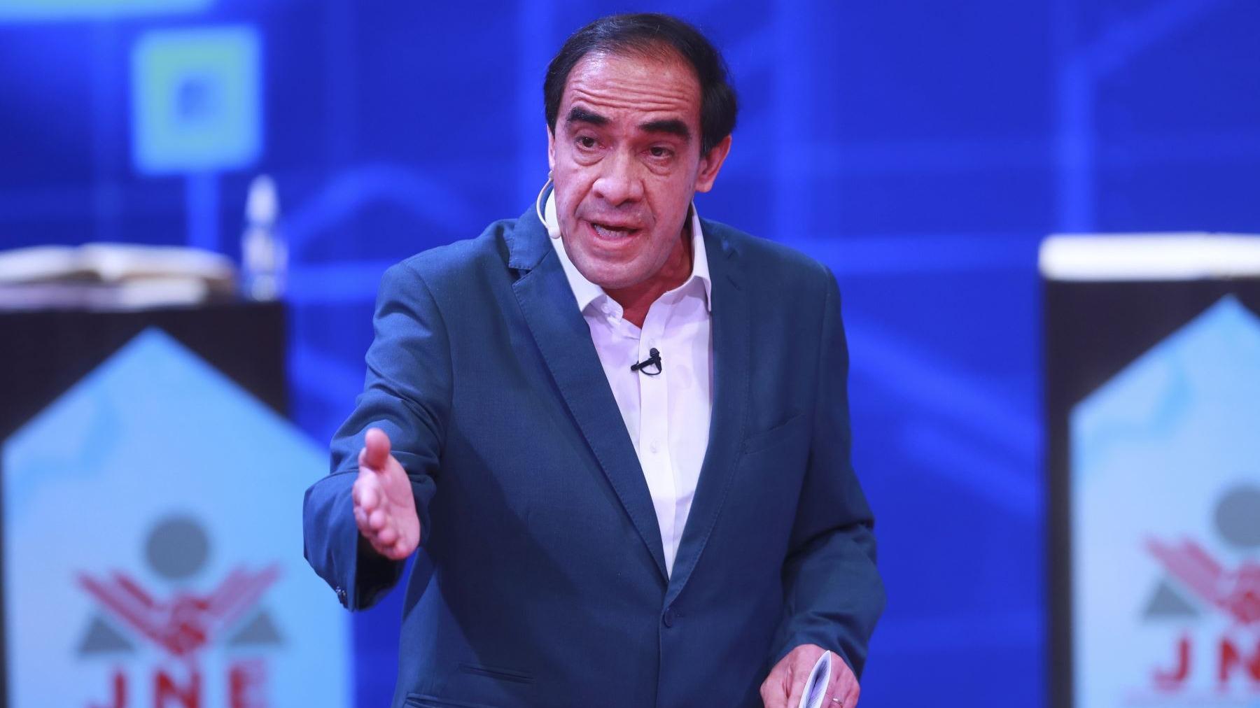 Yonhy Lescano, candidato presidencial de Acción Popular.