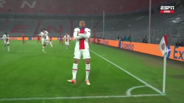 PSG 1-0 Bayern Munich: así fue el gol de Mbappé