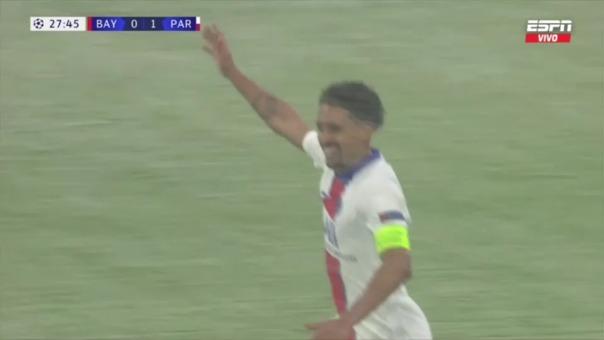 Bayern Munich 0-2 PSG: así fue el gol de Marquinhos