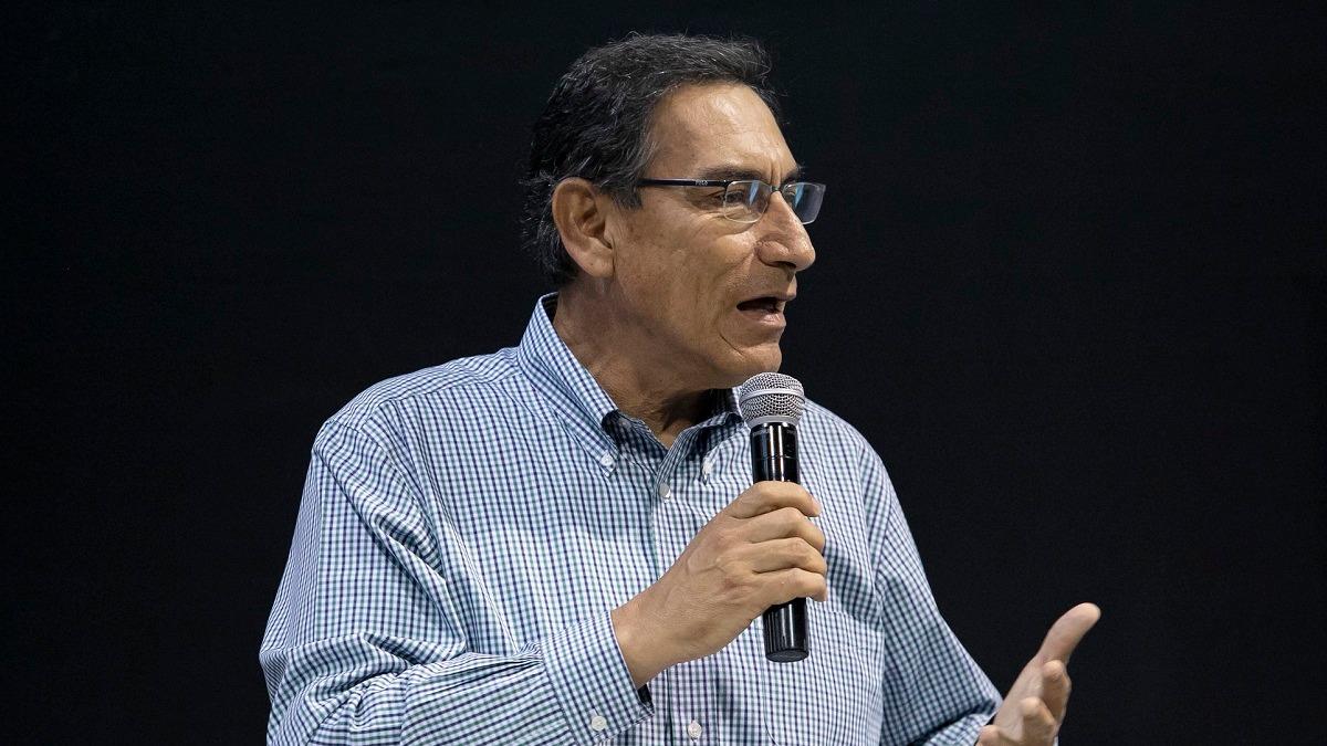 Martín Vizcarra no pudo viajar a Iquitos porque asegura que el Poder Judicial no se lo autorizó
