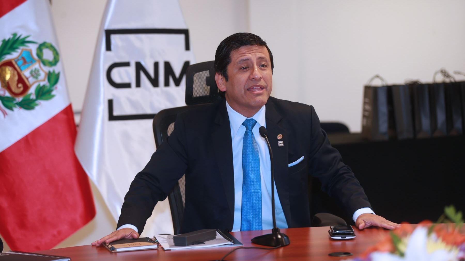 Aprueban denuncia constitucional contra expresidente del desactivado CNM.