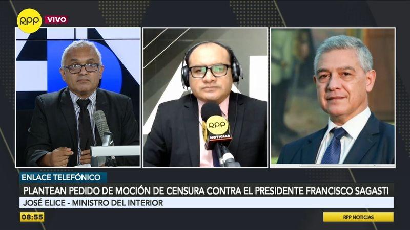 José Elice estuvo esta mañana en Ampliación de Noticias.