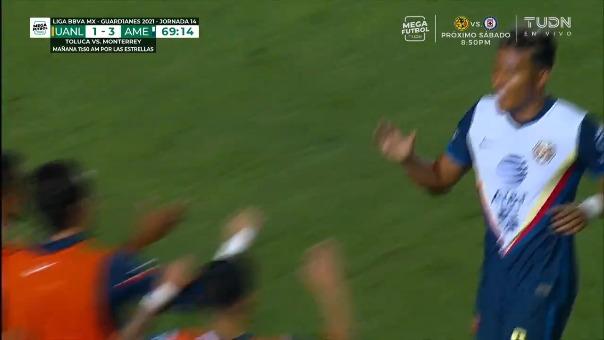 Tigres 1-3 América: así fue el gol de Roger Martínez,