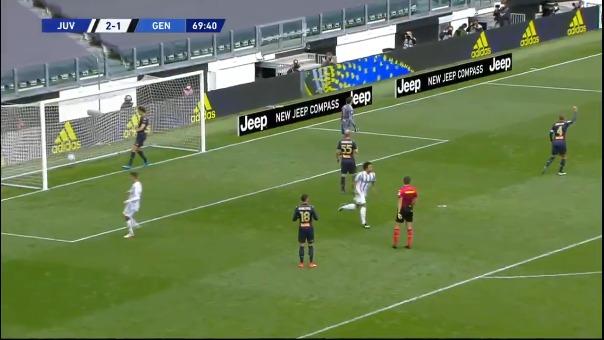 Gol de Juventus.