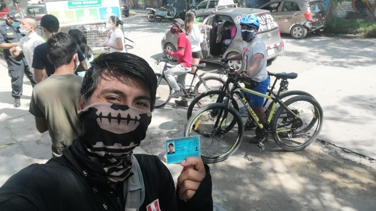 Los colectivos de ciudadanos promueven el uso de la bicicleta en la ciudad de Chiclayo.