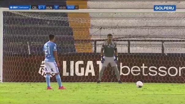 Cristal 0-1 Municipal: Ávila desperdició un penal