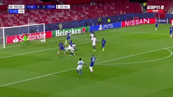 Porto venció 1-0 a Chelsea, pero no alcanzó para clasificar a semifinal de Champions League