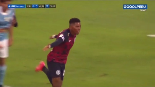 Sporting Cristal 1-0 Municipal: así fue el golazo de Erinson Ramírez