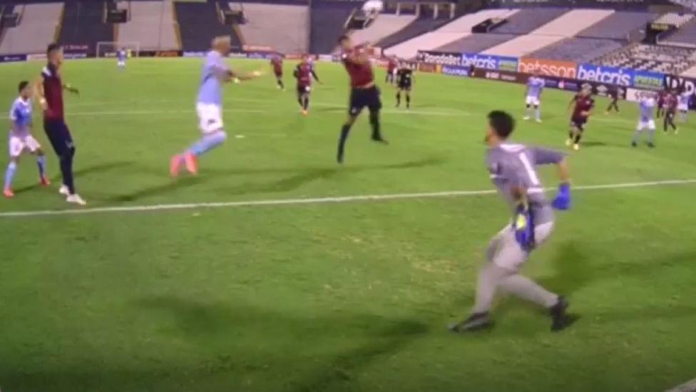 Así fue el gol de Marcos Riquelme en Sporting Cristal vs. Municipal.