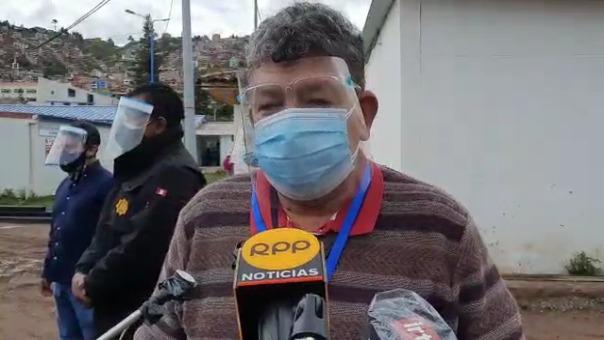 El director del hospital Regional, Jorge Galdós dijo que la UNI debe realizar las reparaciones que corresponden para que la planta de oxígeno funcione.
