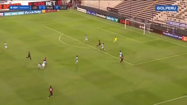 Erinson Ramírez anotó el 1-0 ante Sporting Cristal