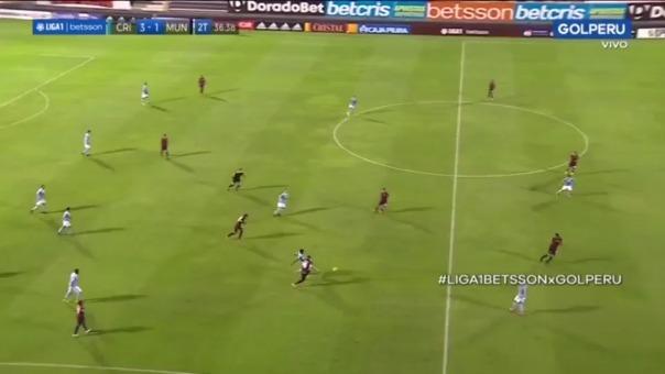 Jhony Galli fue expulsado en partido ante Sporting Cristal
