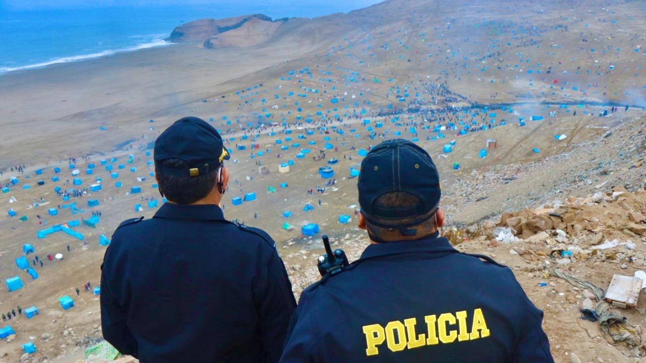 Autoridades municipales se pronunciaron tras invasión en playa 'La Chira'