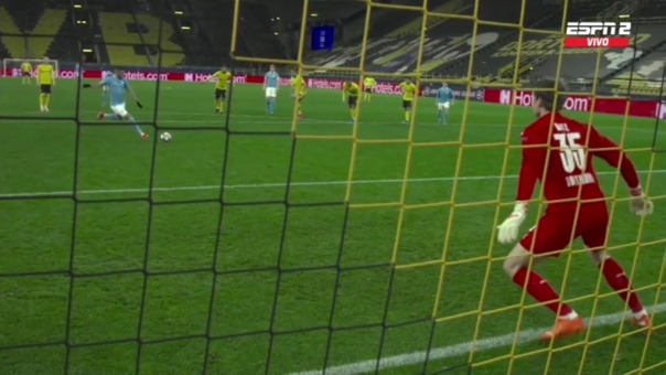 Borussia Dortmund vs. Manchester City: así fue el gol del empate de los ingleses