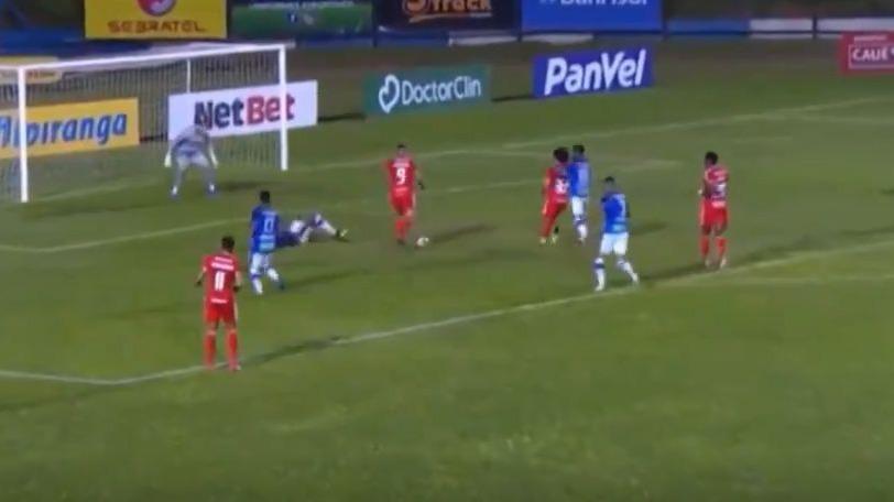 Este fue el gol de Paolo Guerrero frente al Aimore.