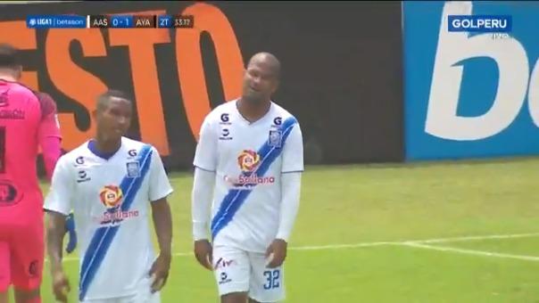 Carlos Olascuaga anotó el 1-0 de Ayacucho FC ante AAS