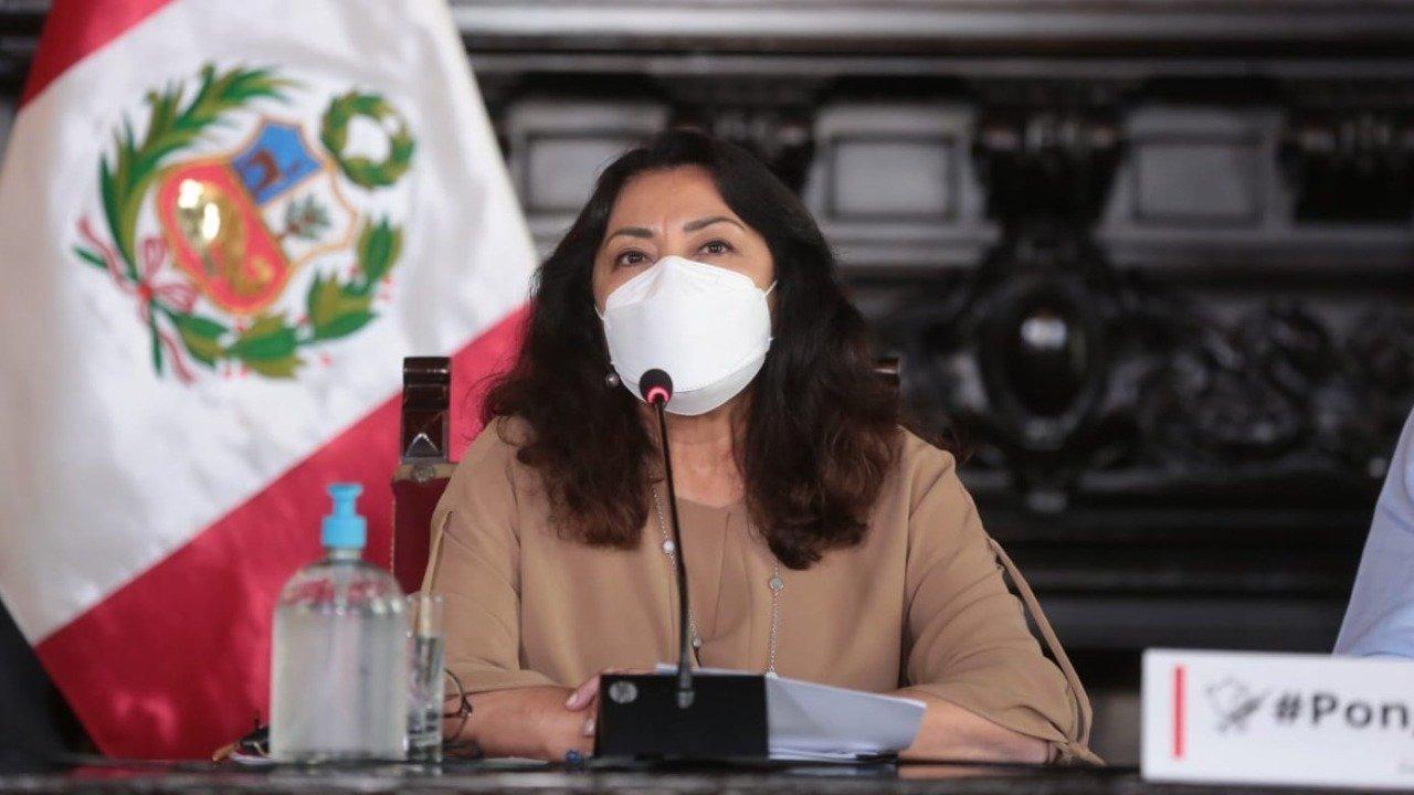 Violeta Bermúdez dio detalles sobre el proceso de vacunación.